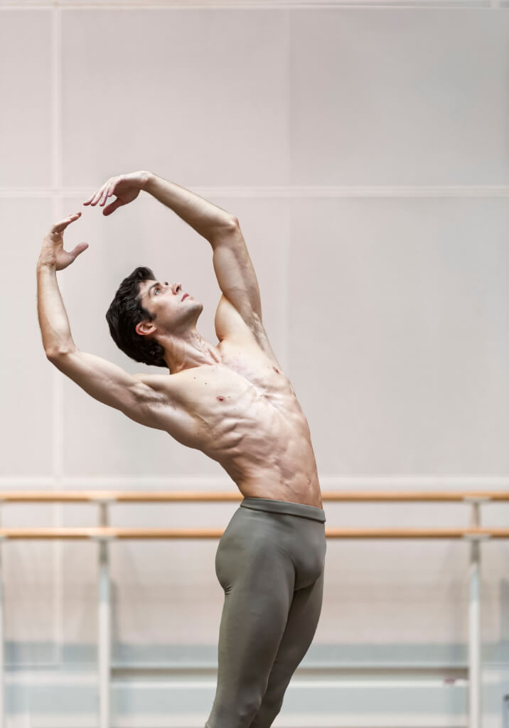 Roberto Bolle - Royal Opera House, London 2014 - photo Luciano Romano