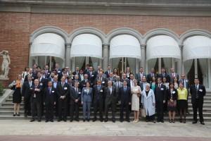 Alcalde Barcelona y empresarios extranjeros 1